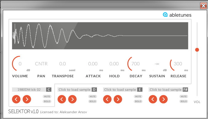 Abletonalies – July 2014 (a small EDM toolbox for Ableton Live)