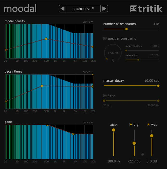 And Now For Something Completely Diffe Kind Of A Reverb Tonal Shaper An Extreme Sonic Mangler This Is Moodal From Tritik Who