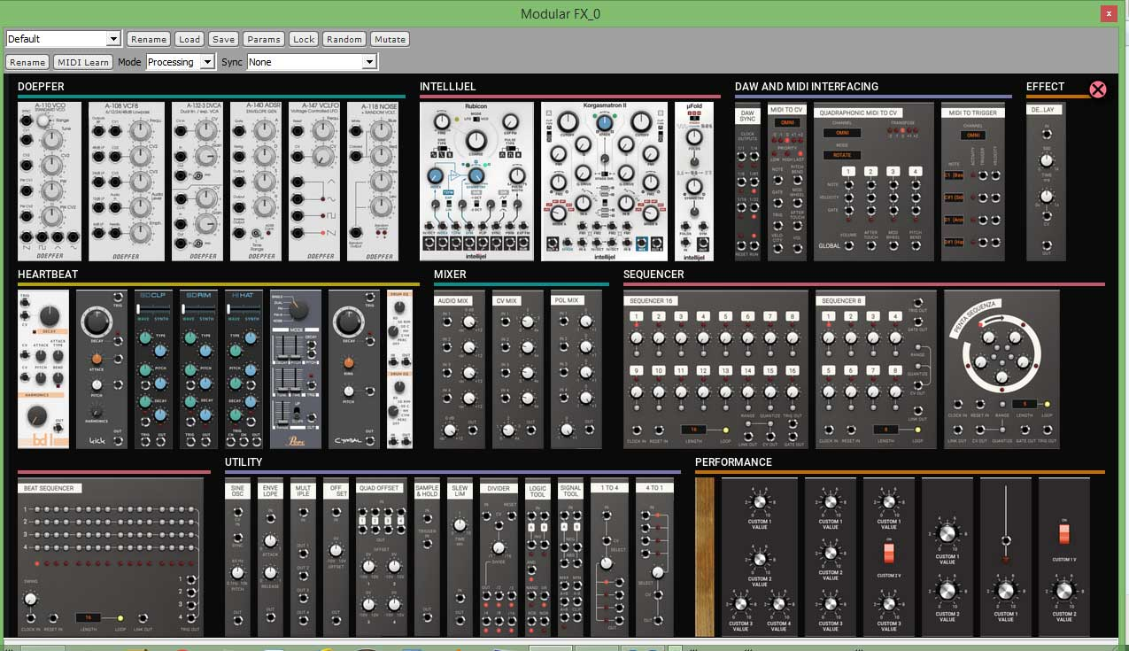 review softube modular software synthesizer. Black Bedroom Furniture Sets. Home Design Ideas