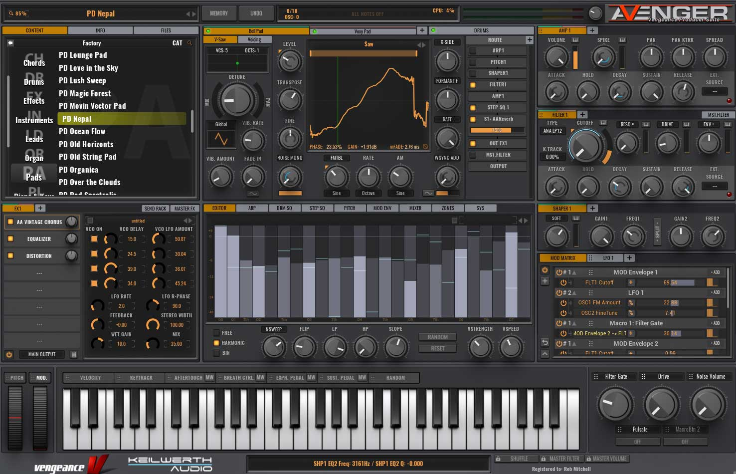Vengeance Producer Suite Avenger v1.2.2 WIN & MacOSX + Factory Content & Expansions