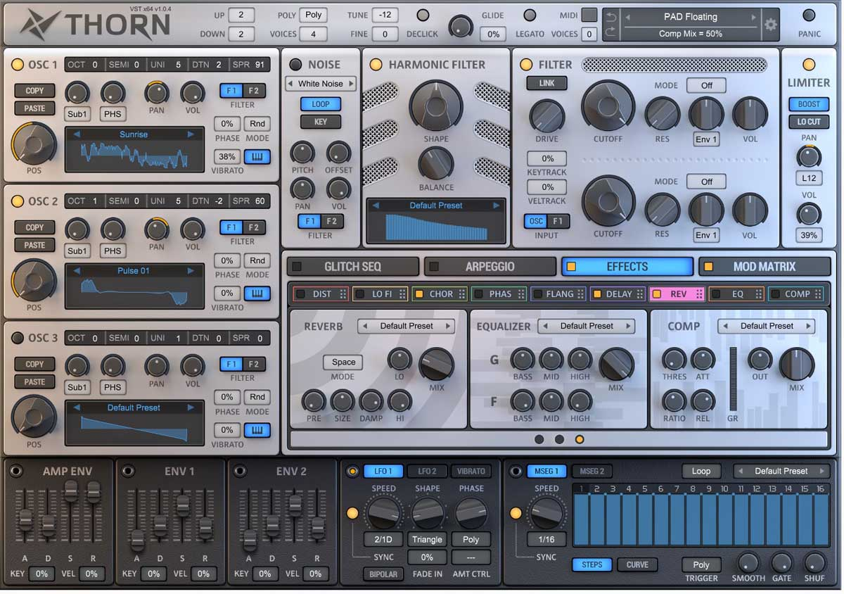 Review Thorn By Ds Audio Software Oscillators