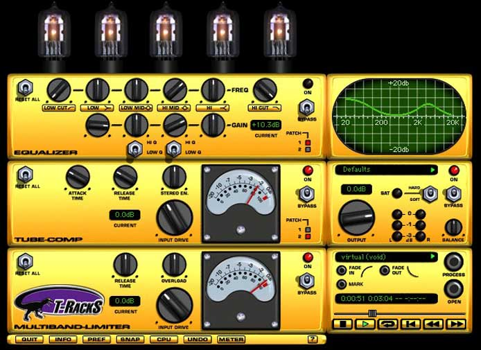 t racks soft clipper vst