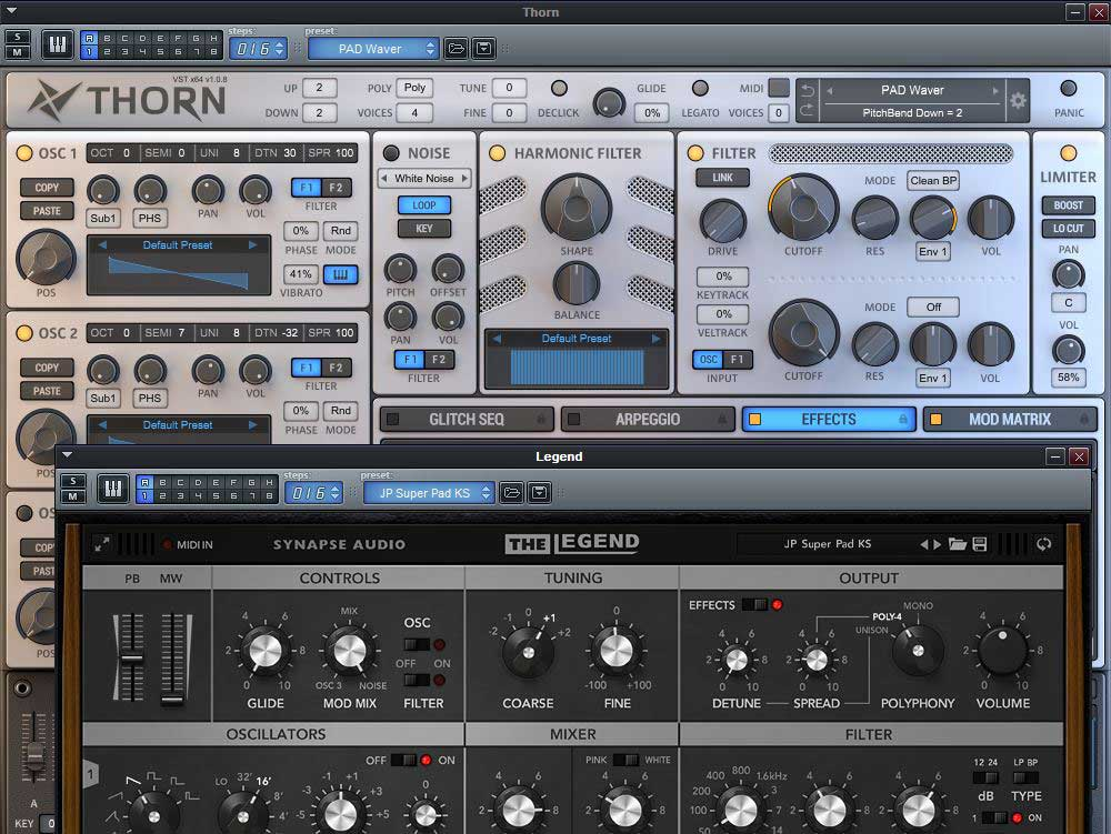 Tutorial - Layering: A Tale of Six Synths