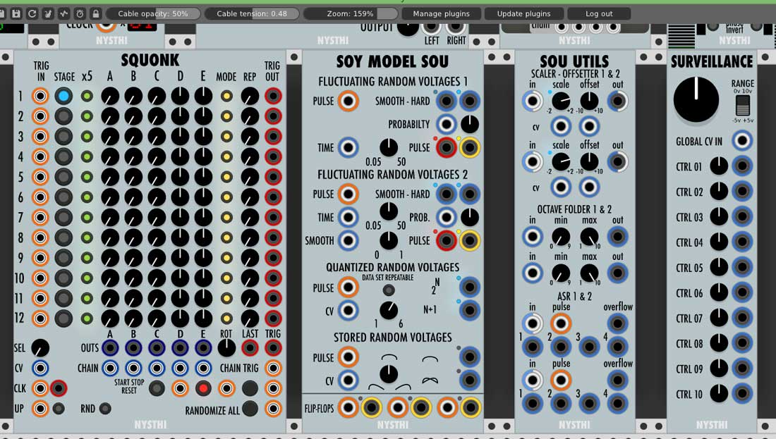 Review - NYSTHI Modules for VCV Rack