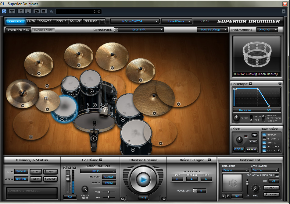 Superior Drummer 2,3 by Toontrack, Soundbytes review