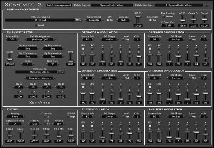 Review - Xen_FMTS2, a FREE Softsynth That Opens the Way to Wild
