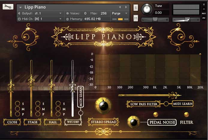 Review - Lipp Piano from Strezov Sampling