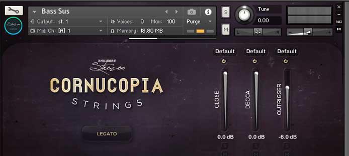 Review - Cornucopia Strings from Strezov Sampling