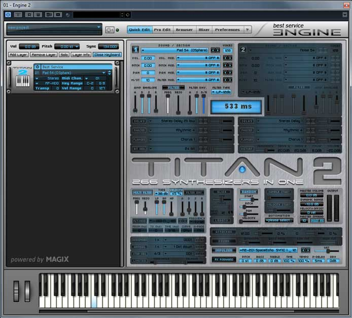 Review – Titan 2 from Best Service