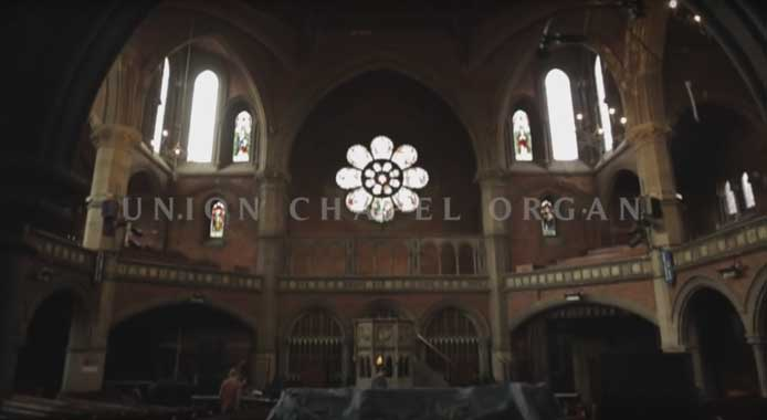 Points of Kontakt - Union Chapel Organ from Spitfire
