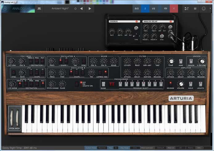 Review – Analog Lab 2 from Arturia