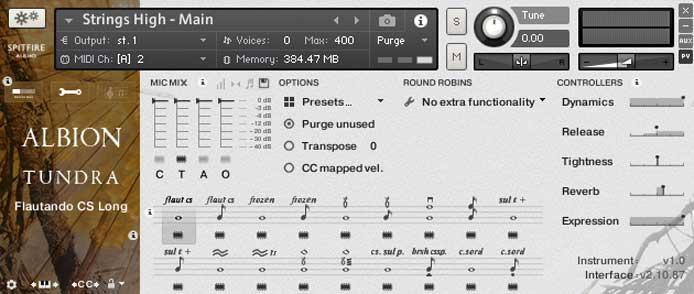 Review - Spitfire Audio Albion V Tundra