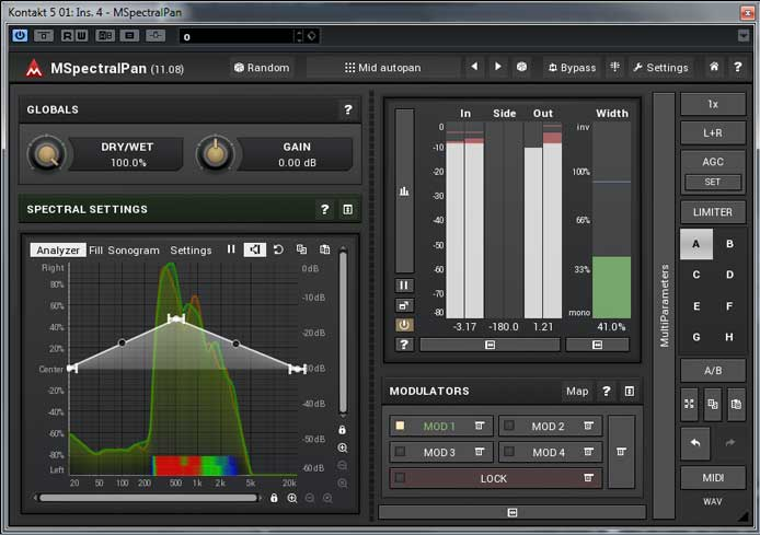 Freebie of the Month: MSpectralPan from MeldaProduction