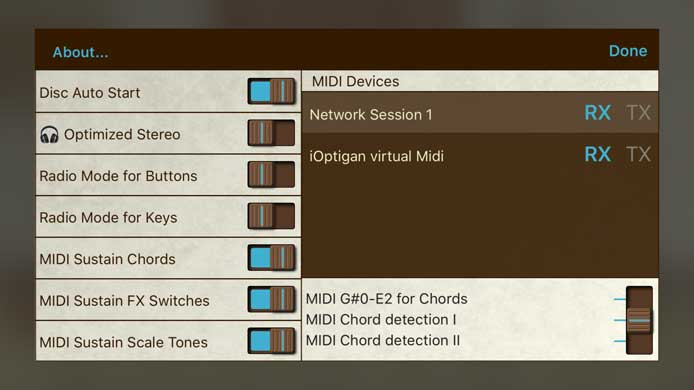 Music for Tablets: iOptigan