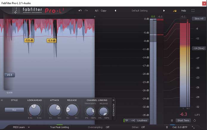 Review - Pro-L 2 from FabFilter