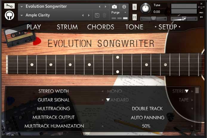 Evolution Songwriter