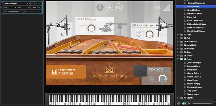 Review - Augmented Piano from UVI