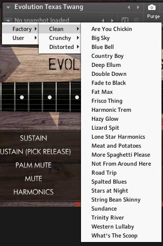 Review – Evolution Texas Twang from Orange Tree Samples