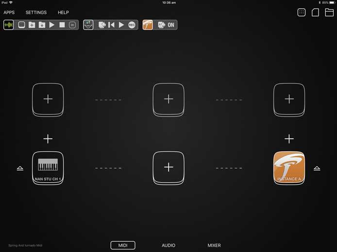 Music for Tablets: Sugar Bytes Turnado for iPad