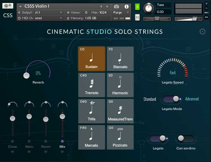 Review - Cinematic Studio Strings and Cinematic Studio Solo