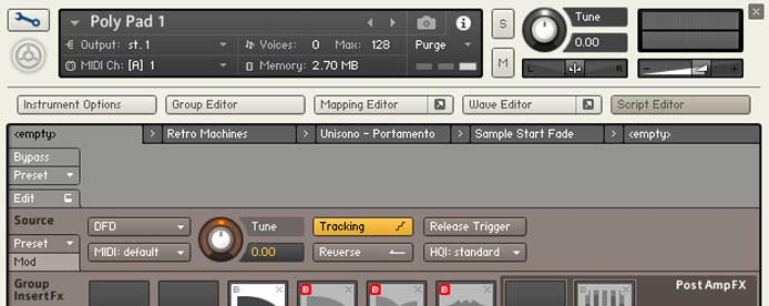 Technique - Microtuning in Kontakt 5 and 6