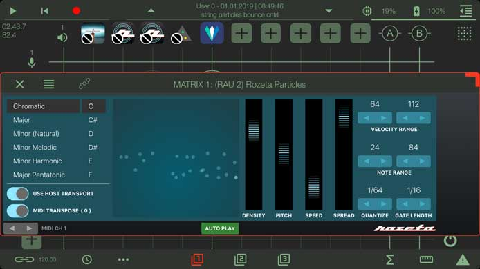 Music for Tablets - apeMatrix, an App by Alessandro