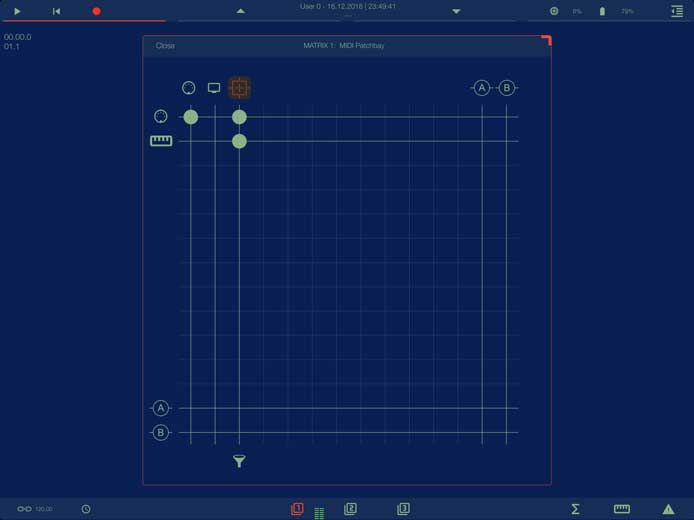Music for Tablets - apeMatrix, an App by Alessandro Petrolati for