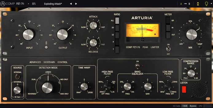 Review – Three Compressor Recreations from Arturia