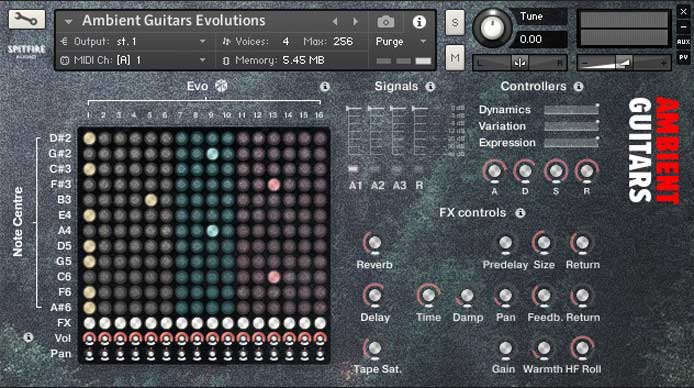 Review - Ambient Guitars from Spitfire Audio