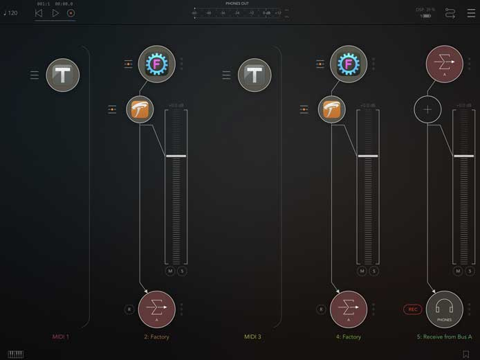 Review - Factory for iPad by Sugar Bytes