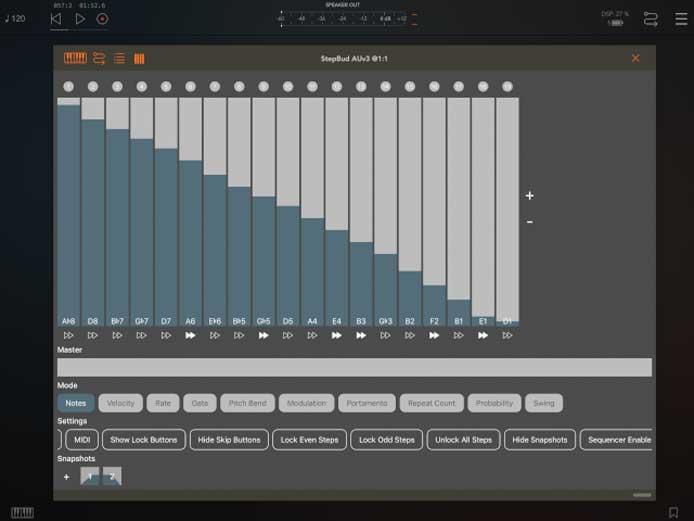 Music for Tablets – StepBud